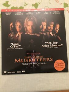 Walt Disney's The Three Musketeers WIDESCREEN LASERDISC