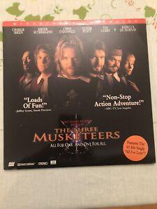 Walt Disney's The Three Musketeers WIDESCREEN LASERDISC