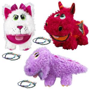 3pk Baby Stuffies Squishy Toys Plush Stuffed Animals & Friendship Bracelets Kids