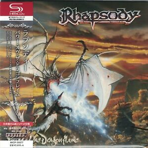 RHAPSODY-Power-Of-The-Dragonflame-Japan-Mini-LP-SHM-CD-Luca-Turilli