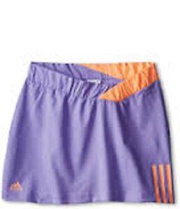 Adidas-Women-039-s-Response-Climalite-Skort-Lavender-Tennis-LARGE-NWT