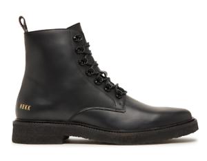 Nuovo Black Leggera Gonna Tgl 41 Logan Stivali Boots Kreppsohle Nubikk Zip X8qSw