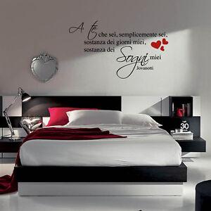 Dettagli Su Adesivo Adesivi Murale Wall Stickers Frase Frasi A Te Che Sei Jovanotti A0511