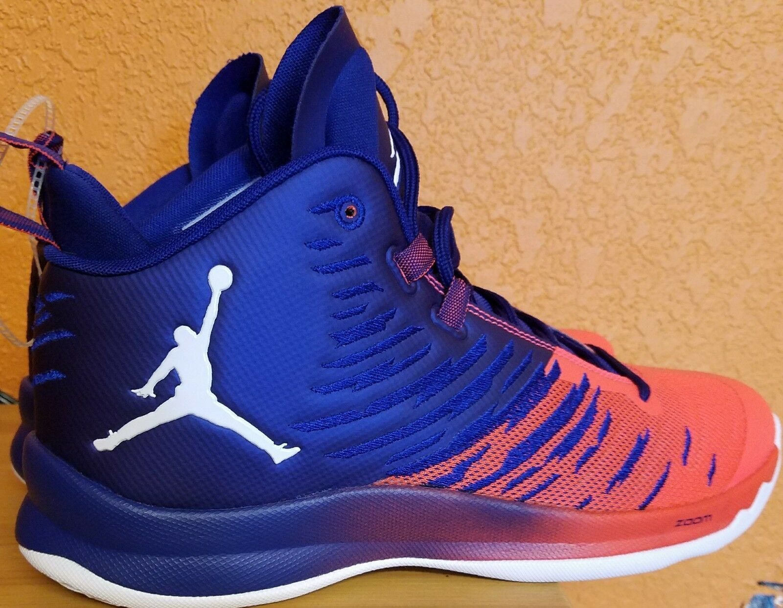 Nike Air Jordans Super Fly 5 Royal blueee Infrared 23 Blake Griffin100%authentic