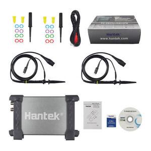 Hantek 20/50/80/100 / 200mhz Pièces 2ch USB Digital Stockage Oscilloscope