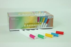 500 ACCENT EMPTY ROLLO TUBES Cigarette Tobacco Rolling Filter + *FREE INJECTOR*