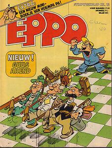 STRIPWEEKBLAD-EPPO-1978-nr-13-MINI-BOEKJE-HOEMPA-PA-DE-PARTIZANEN-OPA-COVER