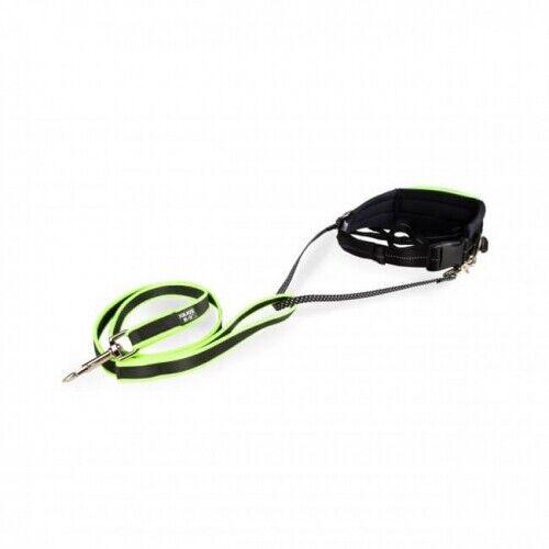 JULIUS-K9® Premium Neon Jogging Set, Bauchgurt mit Joggingleine, Jogginggurt  | Queensland