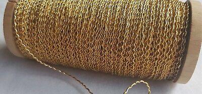 Vintage Gold Metallic Military Trim  Nice Quality French $5.99 p//y
