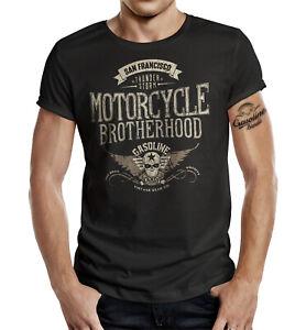 GASOLINE BANDIT T-Shirt Motorcycle Brotherhood San Francisco S - 4XL