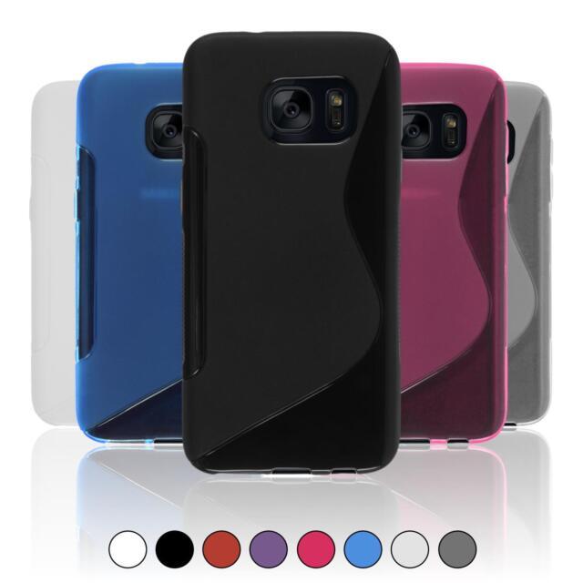Funda De Silicona Para Samsung Galaxy S-Style Cover Case + Protector De Pantalla