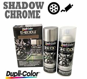 Details About Duplicolor Shadow Chrome Black Out Kit Shd1000 Coating Pack Brake Rims