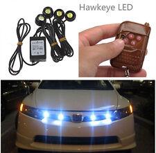 12W Car 4 LED Hazard Emergency Warning Traffic Advisor Flash Strobe Light Kit