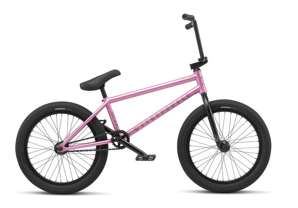 WE THE PEOPLE 2019 TRUST CS 21 pink gold COMPLETE BMX BIKE 21  BIKES S&M