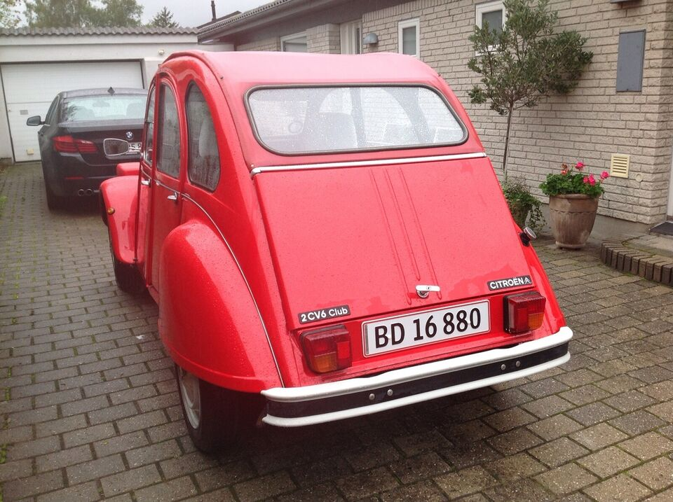 Citroën 2CV, 0,6 Club, Benzin
