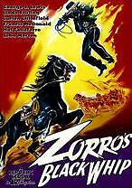 ZORRO'S BLACK WHIP - DVD - Region Free - Sealed