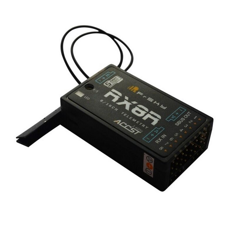 Rx8r con módulo de seguridad para SBus-señales-rojoundancy función UE-lbt versión
