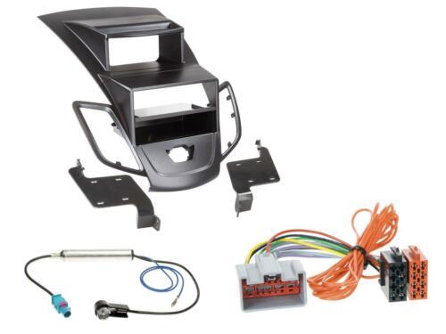 Kit de integracion din autoradio para ford fiesta 08-10 Display Negro