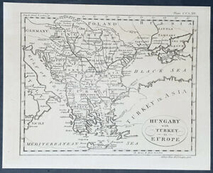 1770-Andrew-Bell-Antique-Map-of-Hungary-amp-Turkey-in-Europe
