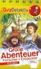 Quizdetektiv Und Allgemeinwissen Fur Schuler Quiz: Grosse Abenteuer by Arena Verlag GmbH (Paperback, 2005)