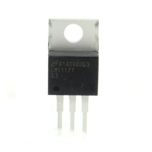 TO-220 LM1117T  3.3V 800mA Regulateur tension LDO 210IC033 NS