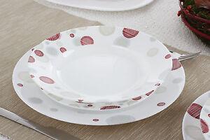Ragstore servizio piatti da tavola in arcopal pz 18 enzo - Servizio piatti da tavola in arcopal pz 18 prometeo ...