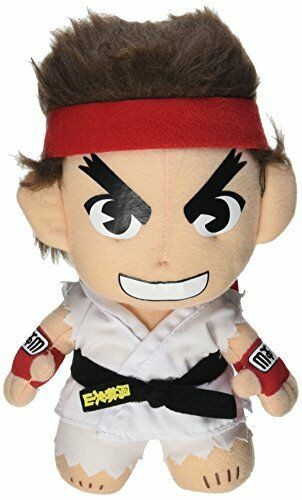 "Great Eastern Entertainment Street Fighter IV Ryu 8/"" plush"