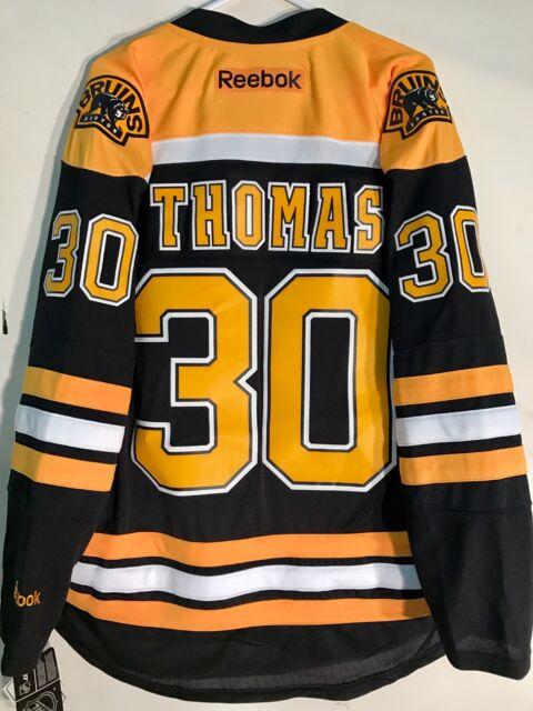 Buy Reebok Premier NHL Jersey Boston Bruins Tim Thomas Black Sz 2x ... 56cb222657d