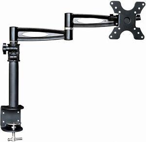 Computer Monitor Desk Mount Swing Arm 3 Adjustable Tilting