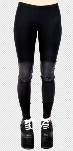 Lip Service Goth Industrial Steampunk The Occult Satanic Star Thermal Leggings