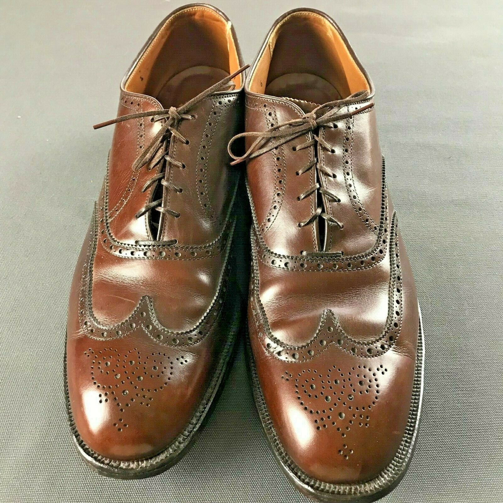 MSRP ALDEN BALMORAL BARELY WORN WINGTIP SHOES COLOR 8 SIZE 13 B