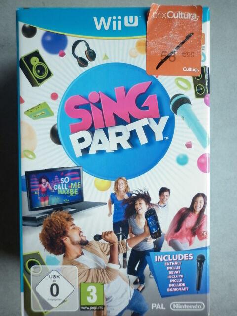 Sing Party Jeu Vidéo Nintendo Wii U