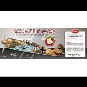 Guillow's 406Lc Focke-Wulf-balsa avión modelo Kit de corte láser-Gui-406Lc
