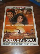MANIFESTO,Duello al sole Duel in the Sun,Jennifer Jones,Gregory Peck,Cotten