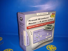 Firewall + broadband +Router + 4 puertos Switch  CONCEPTRONIC sin uso