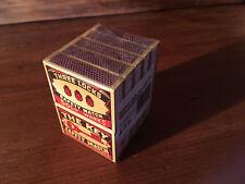 Streichhölzer Neu Zündhölzer 10  Schachteln Sicherheitszündhölzer SOLO Design