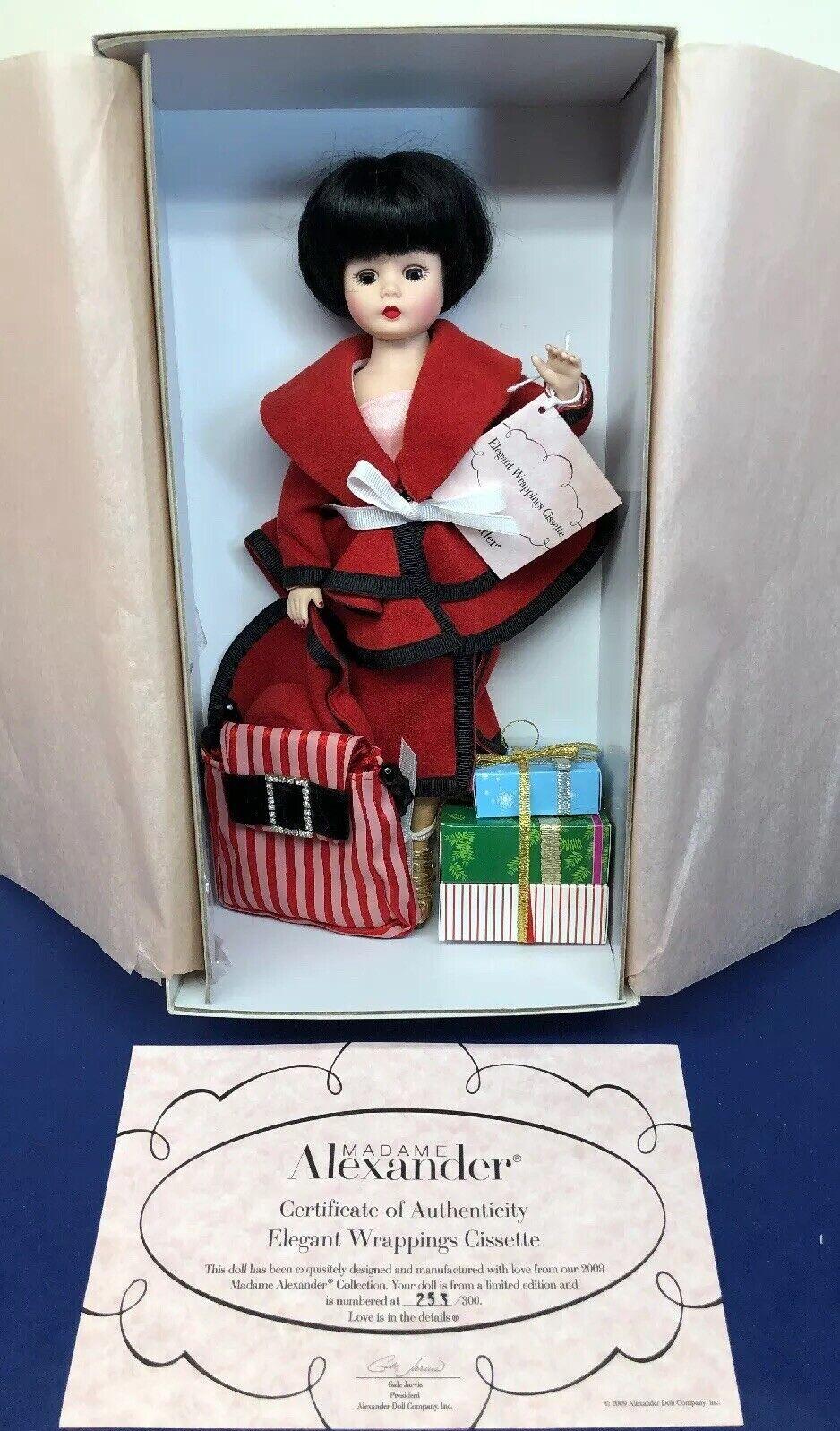 10  Muñeca Madame Alexander  envolturas elegante cissette  253 300 Menta Con Caja
