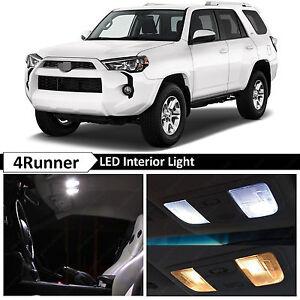 15x White Interior LED Lights Package Kit for 2010-2016 Toyota 4Runner