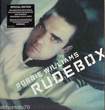 ROBBIE WILLIAMS Rudebox CD Special Edition + DVD - Digipak