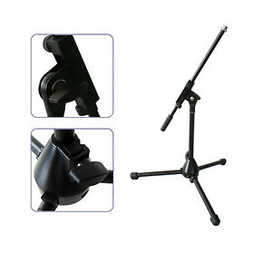 short small mini microphone boom stand bass drum guitar amp recording holder mic 5055538106163. Black Bedroom Furniture Sets. Home Design Ideas