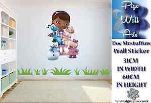 Disney\'s Doc McStuffins Wall Sticker Childrens Nursery Baby ...