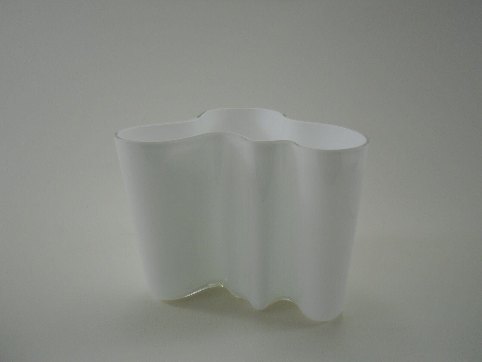 IITTALA Alvar Aalto Savoy jarrón Opal blancoo blancoo 160 mm °