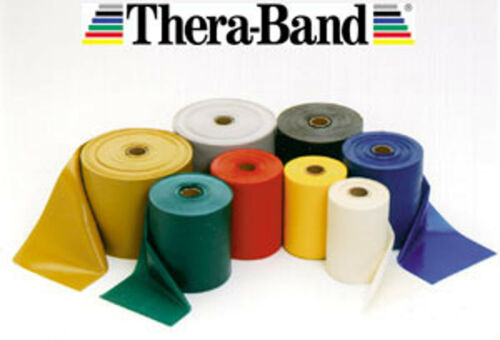 Nhs Exercice Pilate Yoga Physiothérapie Theraband Thera-Band Résistance Bandes