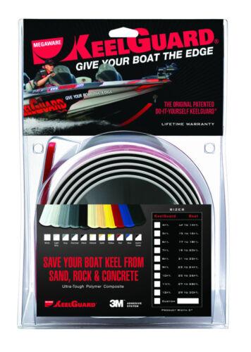 7/' Long White Megaware Keel Guard Shield Boat Bow Protector KeelGuard