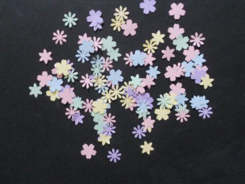 200 Die puñetazos pequeñas flores mixtas Pastel creación De Tarjetas Y Manualidades