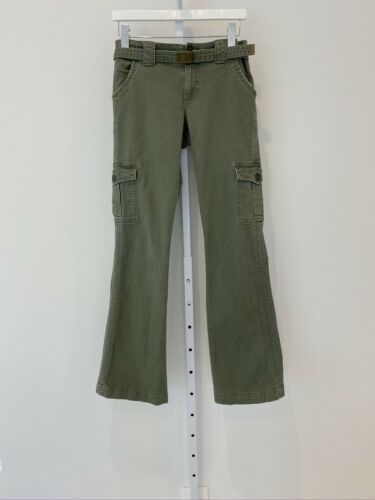 SANCTUARY MILITARY CARGO BELTED PANTS SIZE 27