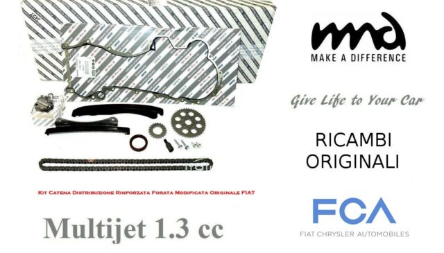 Cadena de Distribución Reforzado Perforada Modificado Fiat Original 1.3 Multijet
