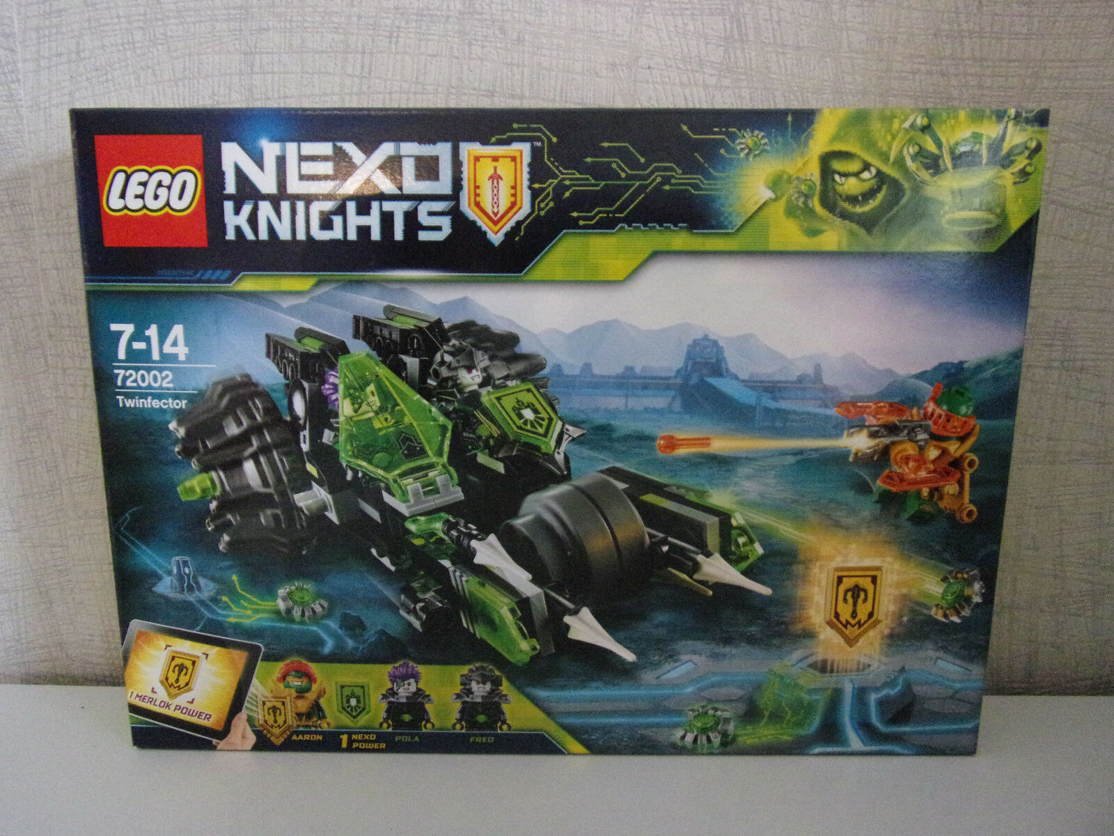 LEGO Nexo Knights 72002 twinfector - NIP