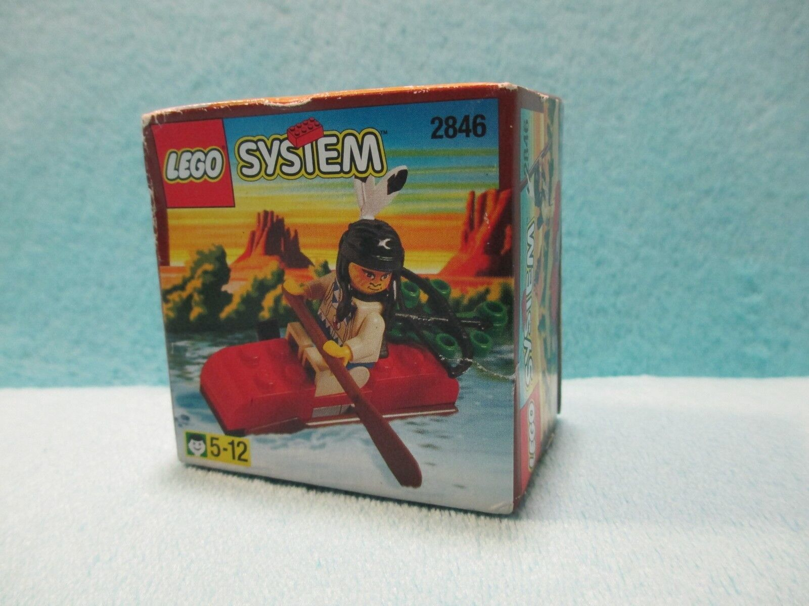 NEW & SEALED LEGO System Set 2846 Western Indian Kayak - XMAS GIFT UNOPENED