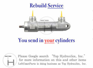 Rebuild Service for your R170 SLK Roof Top Front Lock Cylinder Ram Actuator